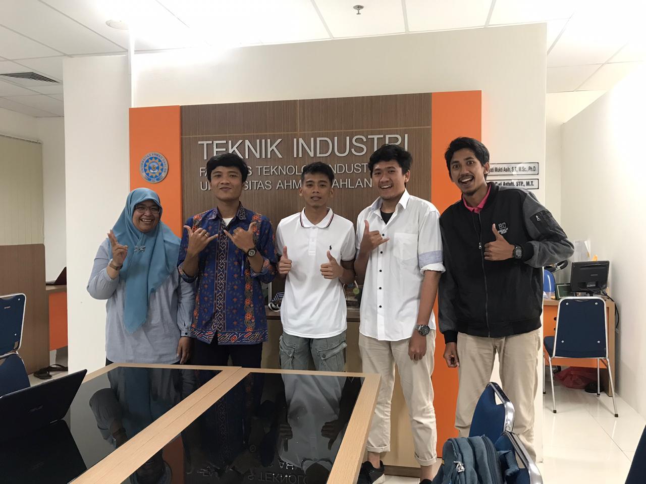Teknik Industri UAD Menyambut Hangat Mahasiswa Exchange Asal Filipina